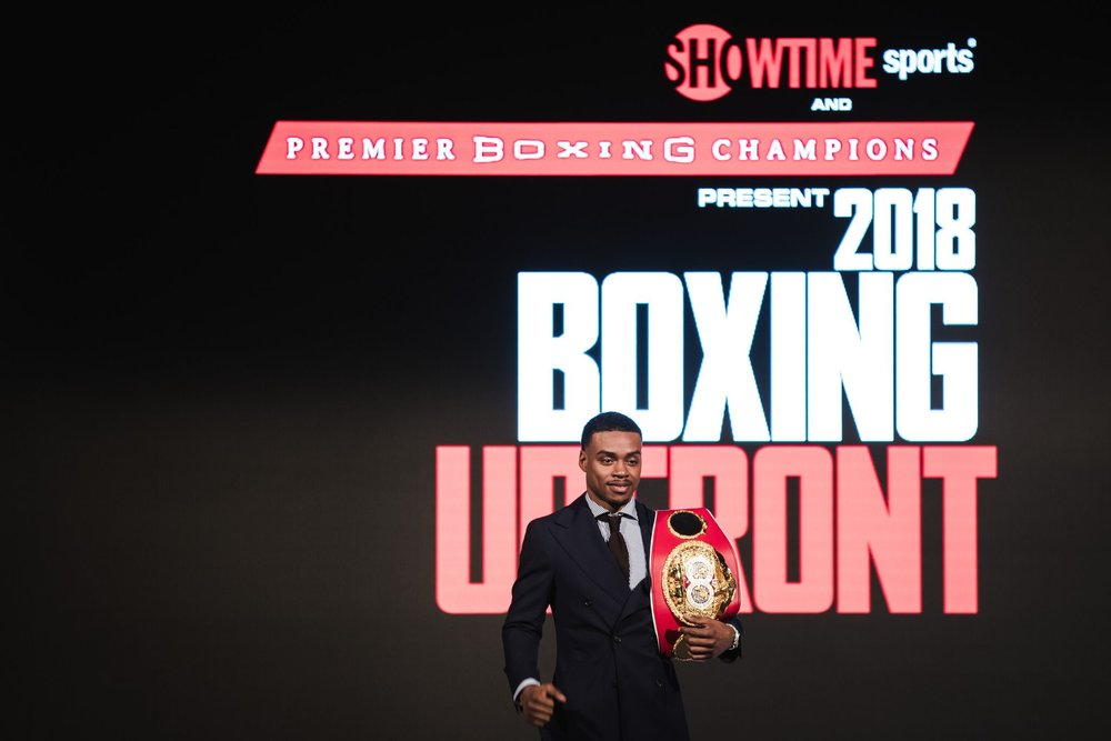 Errol Spence Jr.  will  return to the ring June 16 to defend his title for the second time against an opponent to be named. Photo: Amanda Westcott/Showtime