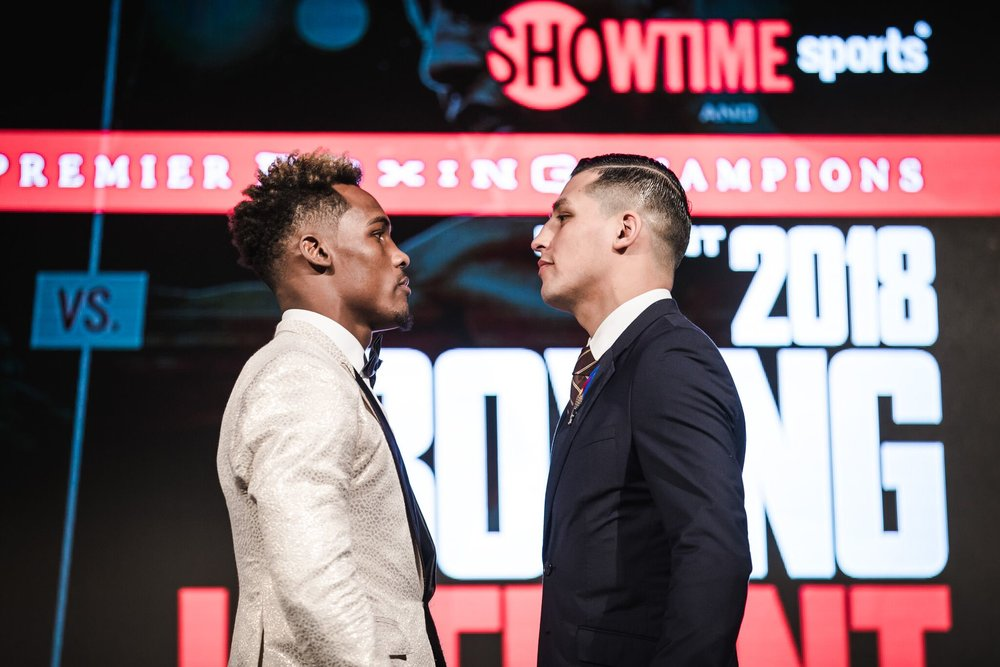 Jermall Charlo will face Hugo Centeno Jr on the  undercard  of Wilder-Ortiz. Photo Amanda Westcott/Showtime