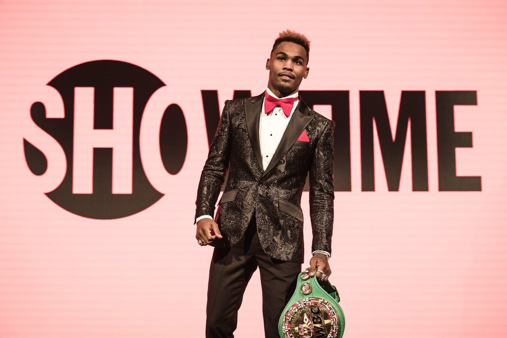 Jermell Charlo makes his ring return after an impressive knockout win over Erickson Lubin. Photo: Amanda Westcott/Showtime