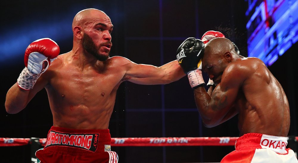Ray Beltran won the vacant WBO lightweight title via unanimous decision over Paulus Moses. Photo: Top Rank Boxing