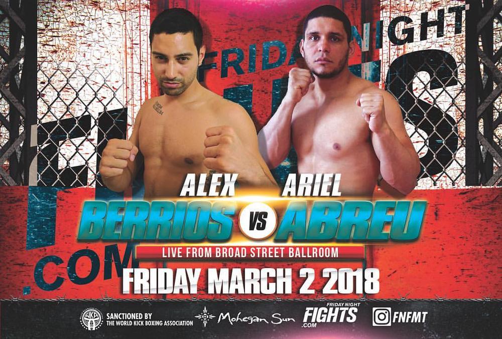 Alex Berrios Friday Night Fights