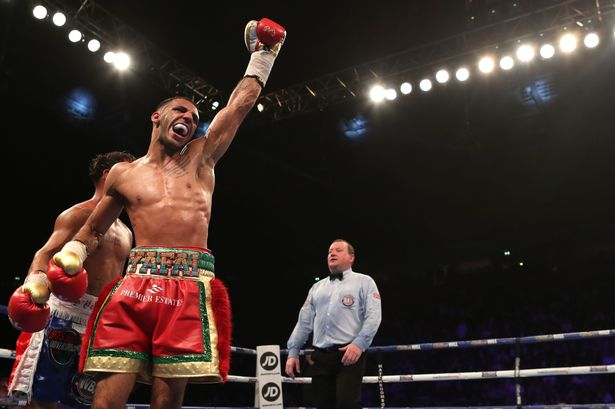 Kal Yafai during his bout with Luis Concepcion for WBA 115-pound title bout. Photo: Peter Byrne/PA Wire