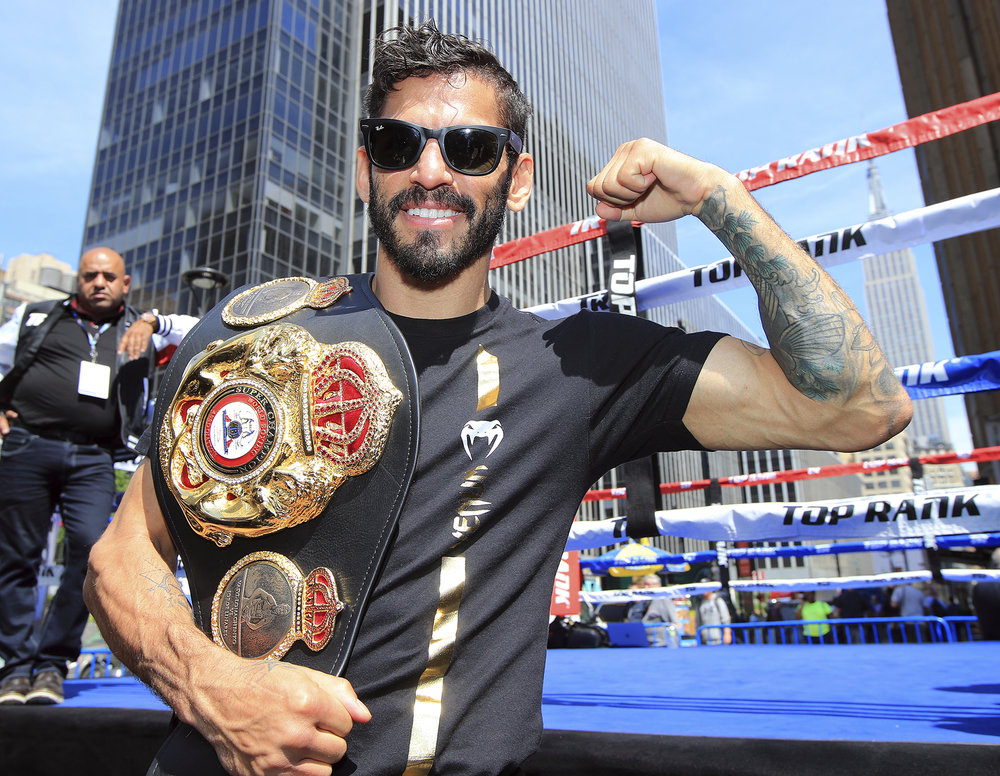 Jorge Linares. Photo: Mikey Williams/Top Rank
