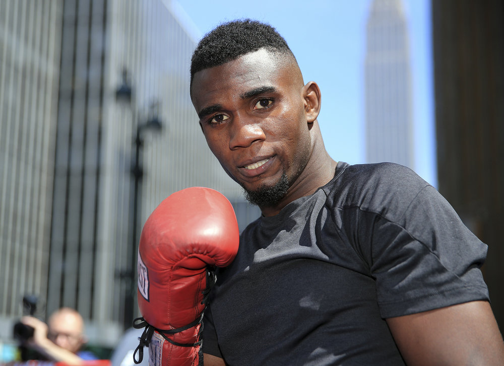 Carlos Adames. Photo: Mikey Williams/Top Rank