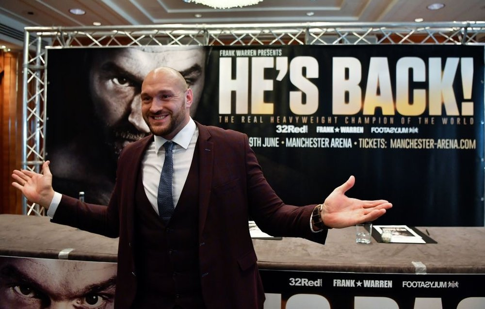 Tyson Fury. Photo: BBC Sports