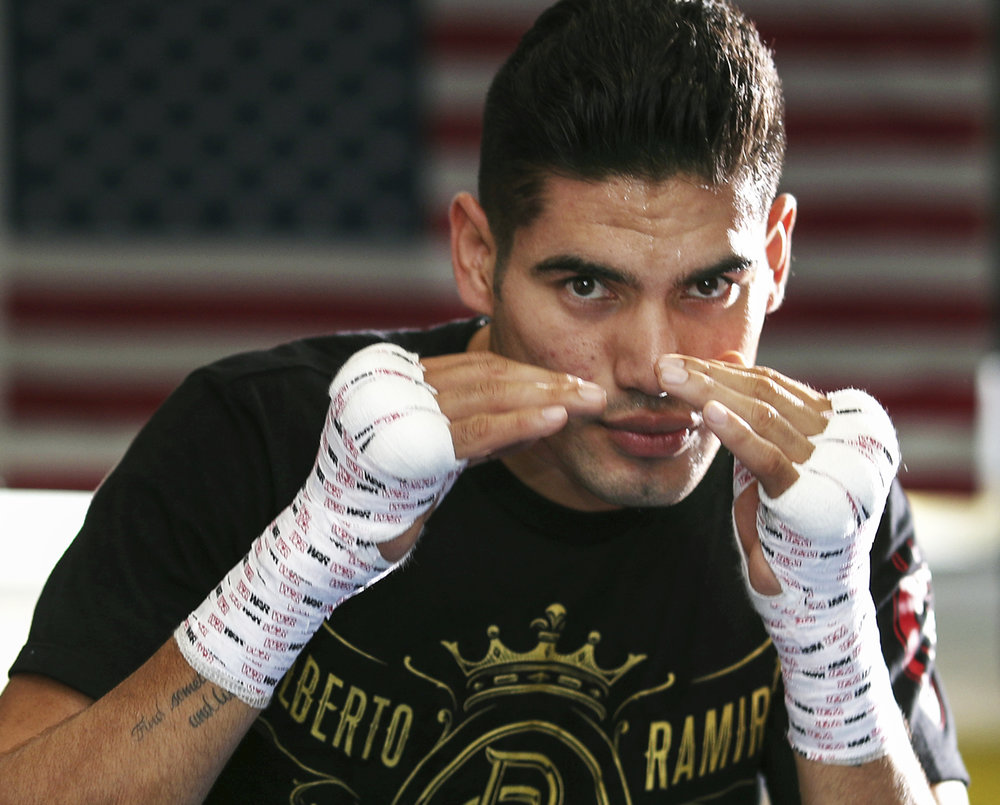 Gilberto Ramirez. Photo: Mikey Williams/Top Rank