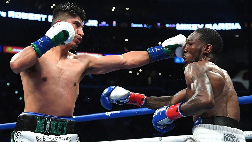 Mikey Garcia became the unified WBC and IBF lightweight champion when he defeated Robert Easter Jr. via unanimous decision at the Staples Center in July. Photo: Jayne Kamin-Oncea/Getty Images