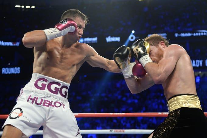 Canelo Alvarez won a controversial majority decision over Gennady Golovkin this past September. Photo: Joe Camporeale/USA Today Sports
