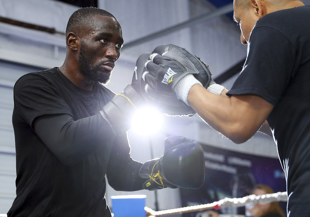 Terence Crawford. Photo: Mikey Williams/Top Rank