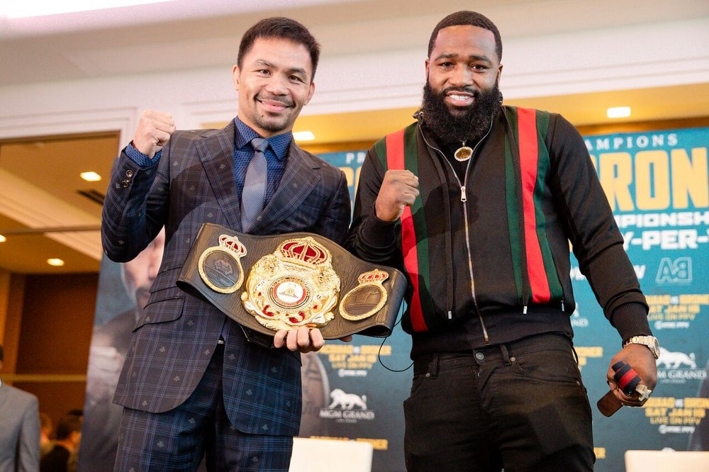 Manny Pacquiao Adrien Broner Boxing