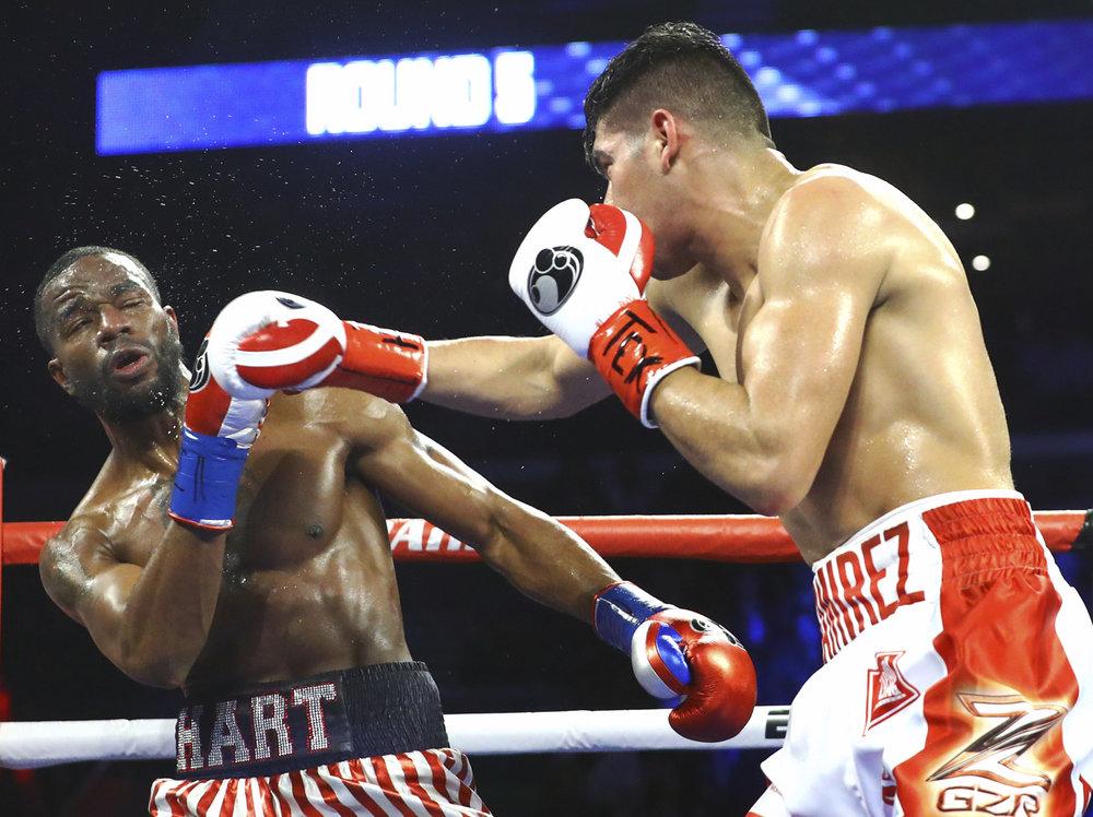 Gilberto Ramirez Jesse Hart Boxing