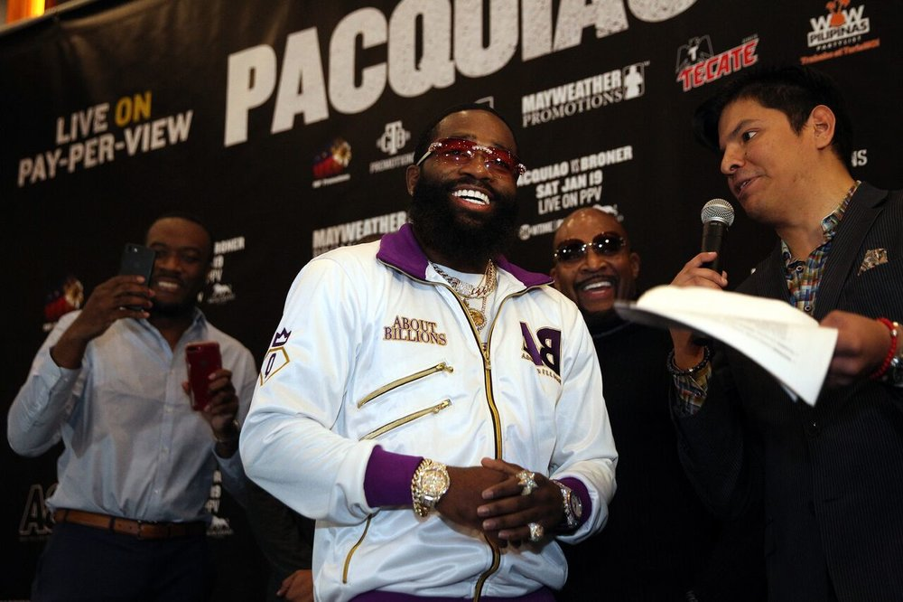 Photo: Chris Farina/Mayweather Promotions