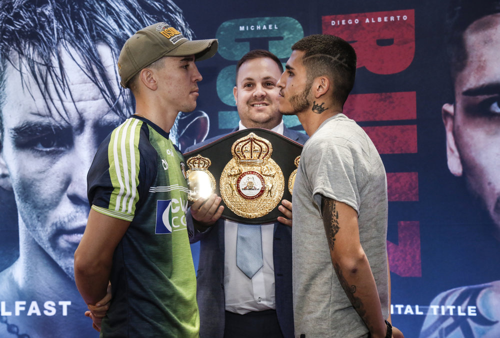 Presser Notes & Quotes: Michael Conlan Ready for Belfast Homecoming