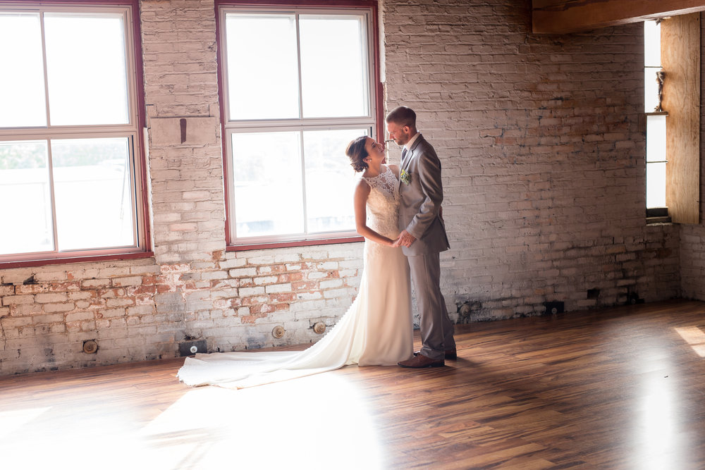 Starline Factory Wedding portraits