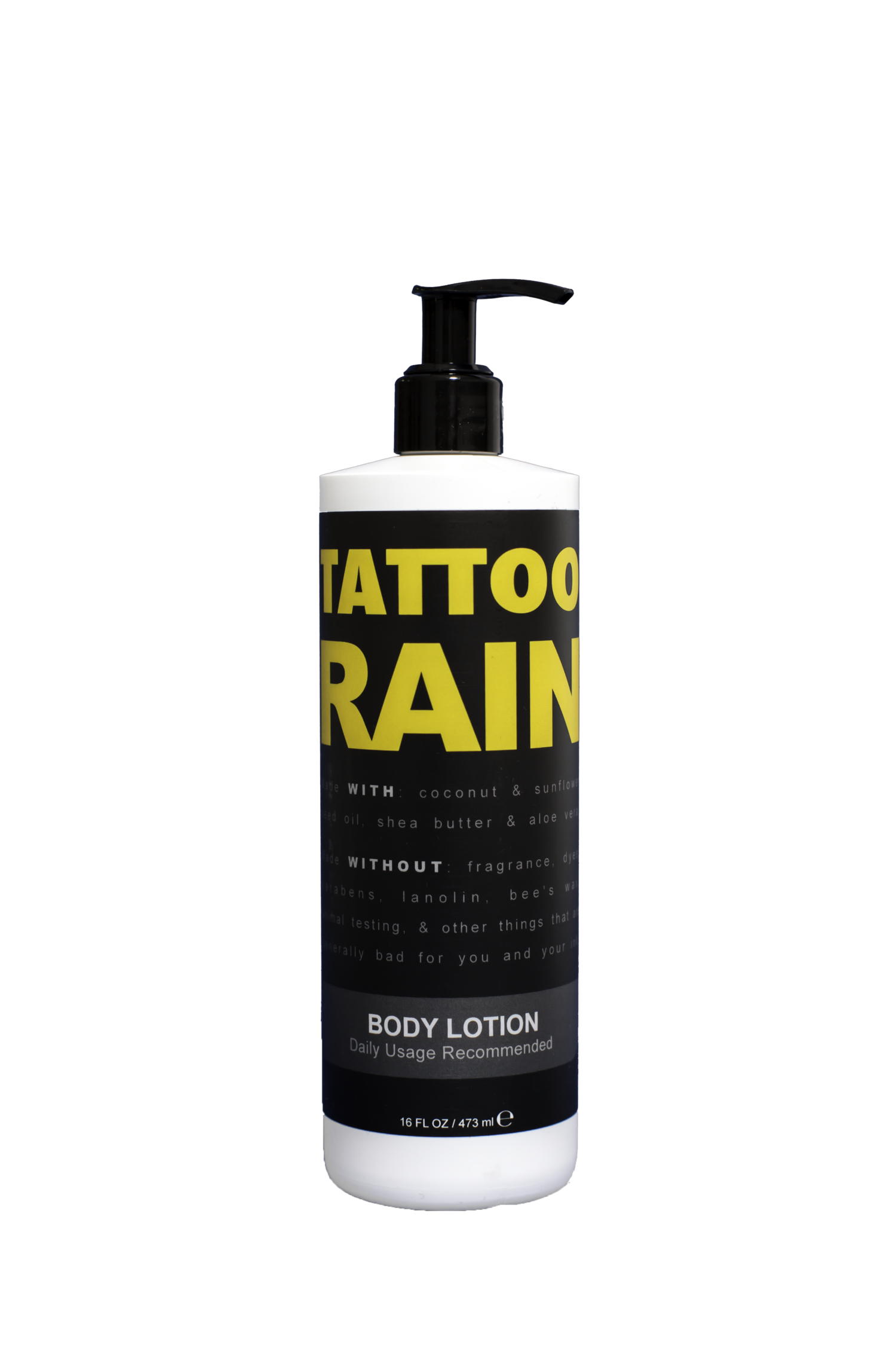 Tattoo Rain Body Lotion — Okoboji Skin Care