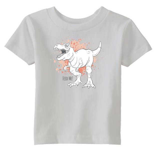 Dinosaur toddler tee