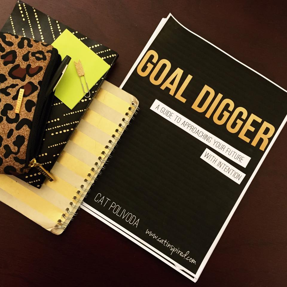 Workbooks goals workbook : GOAL DIGGER PREVIEW: Staying Motivated to Achieve Your Goals — Cat ...