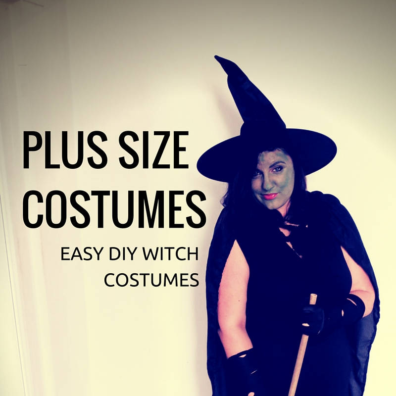 witch Plus costume tattered size