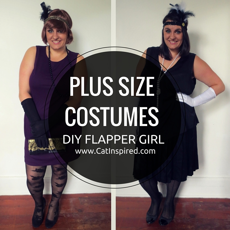 PLUS SIZE COSTUMES: DIY Flapper Girl Costumes — Cat Polivoda