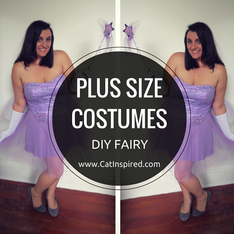 Plus Size Costumes Turning Gowns Into Diy Fairy Costumes Cat Polivoda