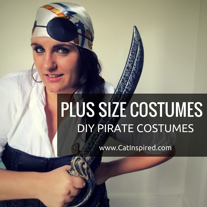 Plus Size Costumes Diy Pirate Costume Ideas Cat Polivoda