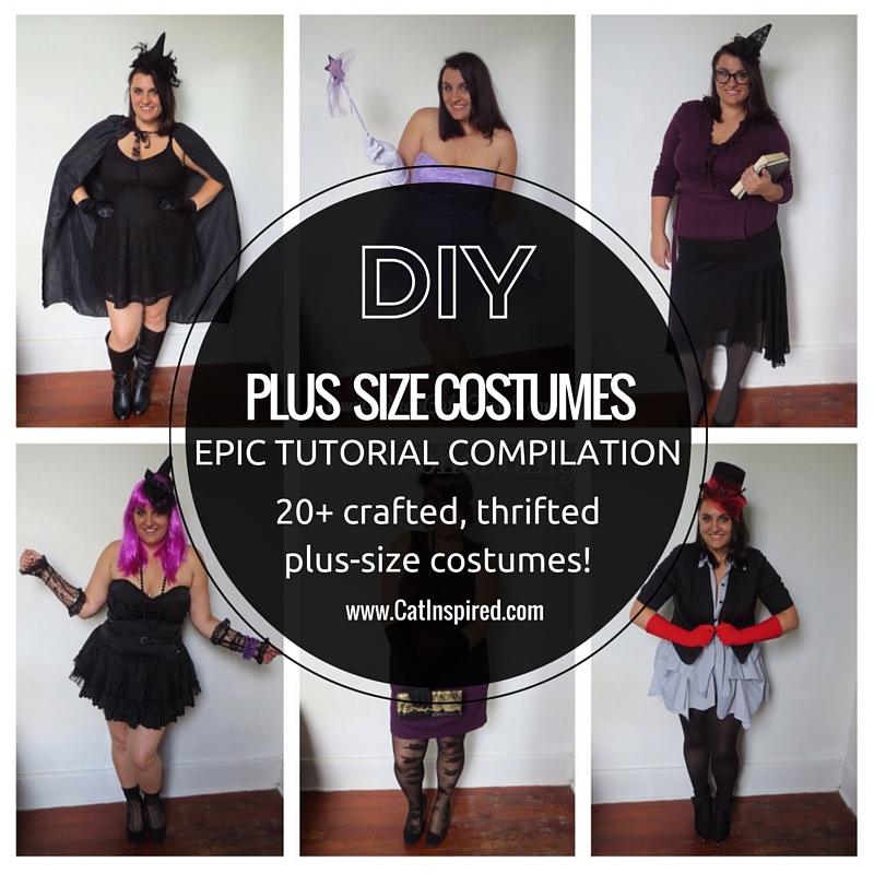 PLUS SIZE COSTUMES Epic DIY Costume Compilation & PLUS SIZE COSTUMES: Epic DIY Costume Compilation u2014 Cat Polivoda