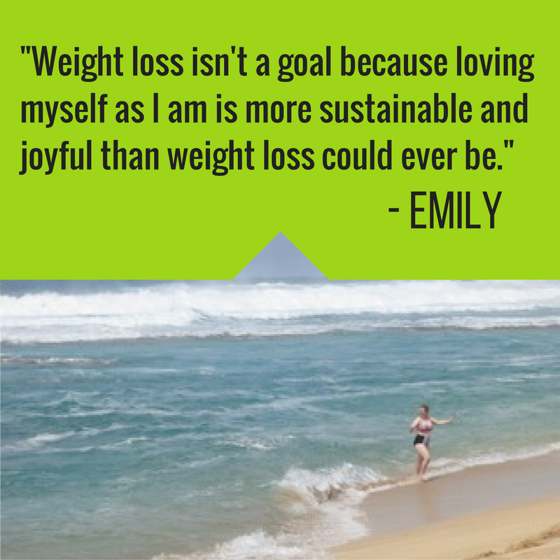 Weight loss isn't a goal because loving myself as I am is more sustainable and joyful than weight loss could ever be.Regular exercise and body movement IS a habit I'm trying to reform in 2017 because it's best preventative medicine for my MS, depression, and anxiety.