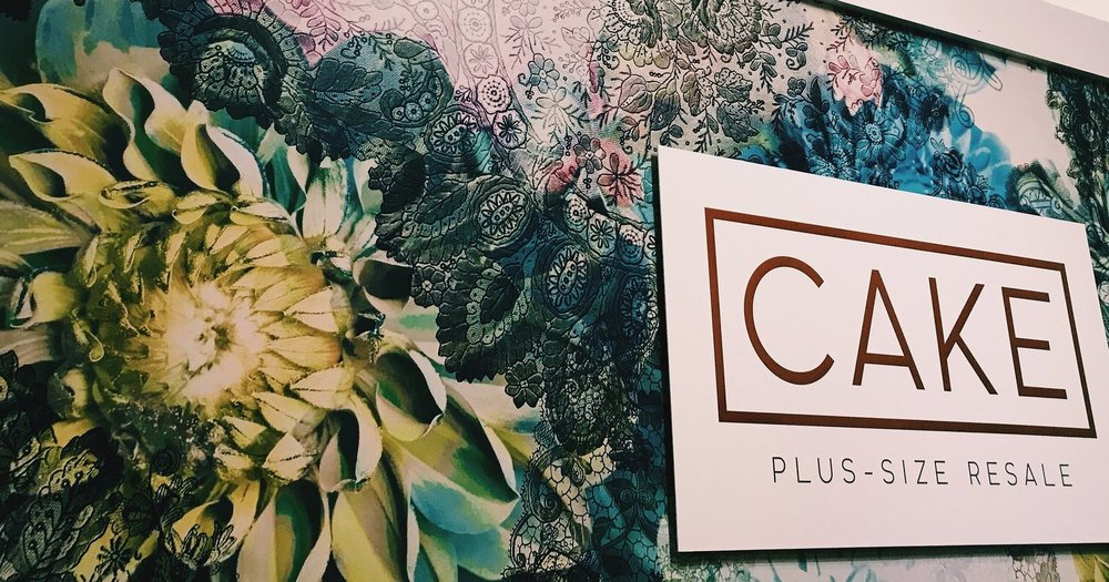 Visit Cake Plus-Size Resale's website!  - Cake Plus-Size Resale (formerly Cat's Closet) is now a brick-and-mortar shop in Minneapolis.