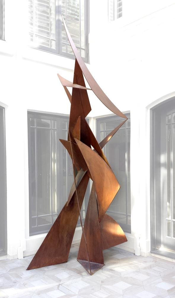 Laddie John Dill  2005  Cor-ten steel  144' x 72' x 72'