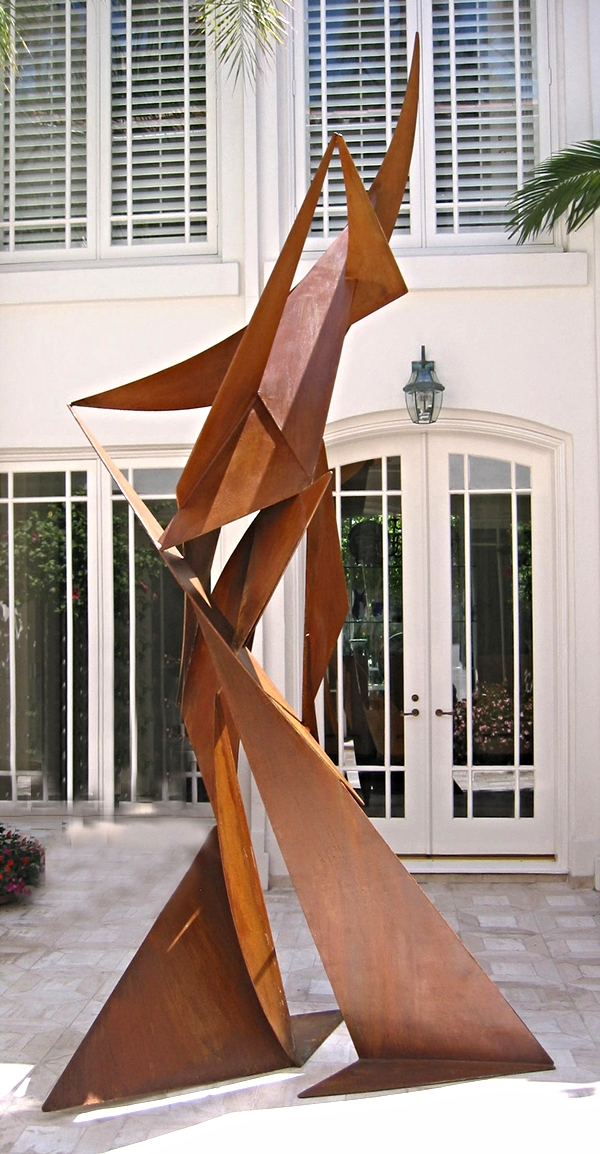 Untitled Sculpture side view