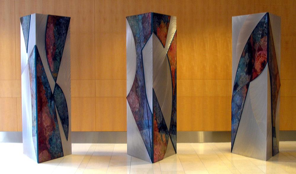 Freestanding Triptych