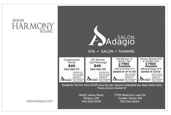 Half page ad which appeared in the program for a high school dance recital. Role: Design & Production