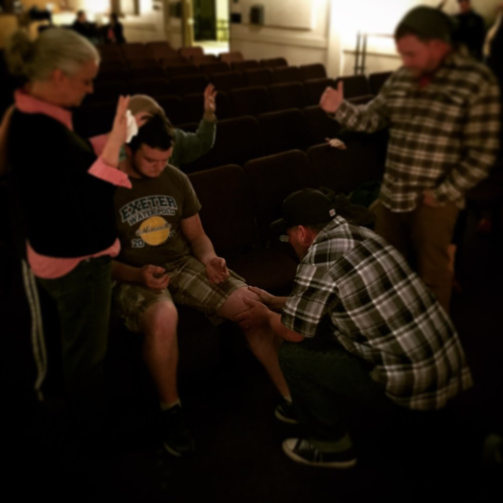 Anointing with Oil & Praying for Healing