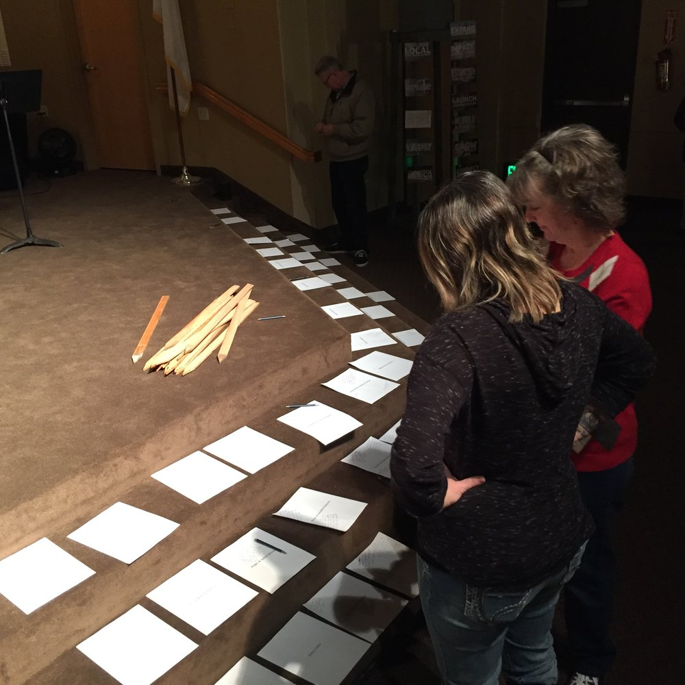 Praying by Name for Each Family in the Church