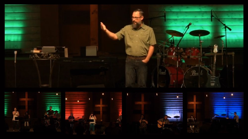 Live worship, prayer and message from the Bible
