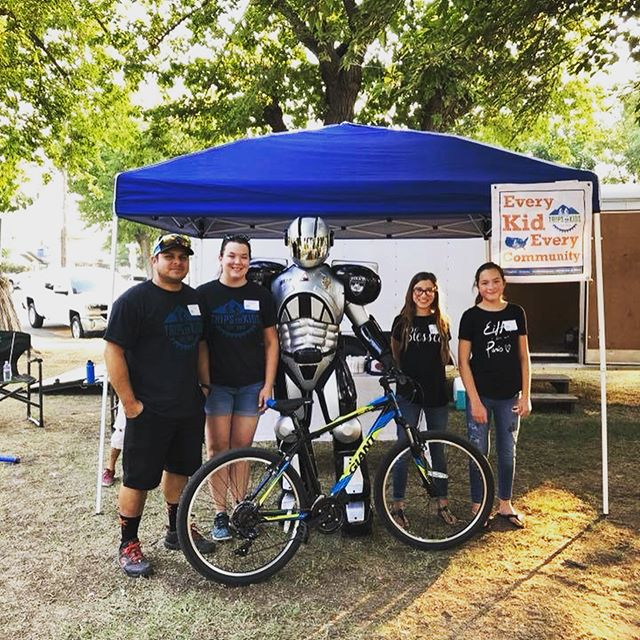 Our Trips for Kids Tulare County Chapter had its first public outing and is now FULLY BOOKED with a waiting list for its first ride at the beginning of September. :)