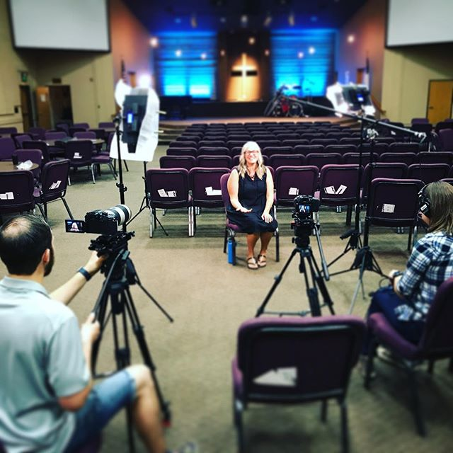 Video shoot over the weekend with @cvoutreach to tell the story of how we met Alex and Joanna months ago. Amazing to capture a fantastic story of how God works all things together for the good of those who love them.