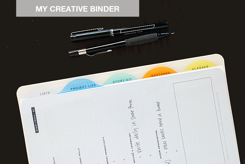 My Creative Binder | Nicole Reaves