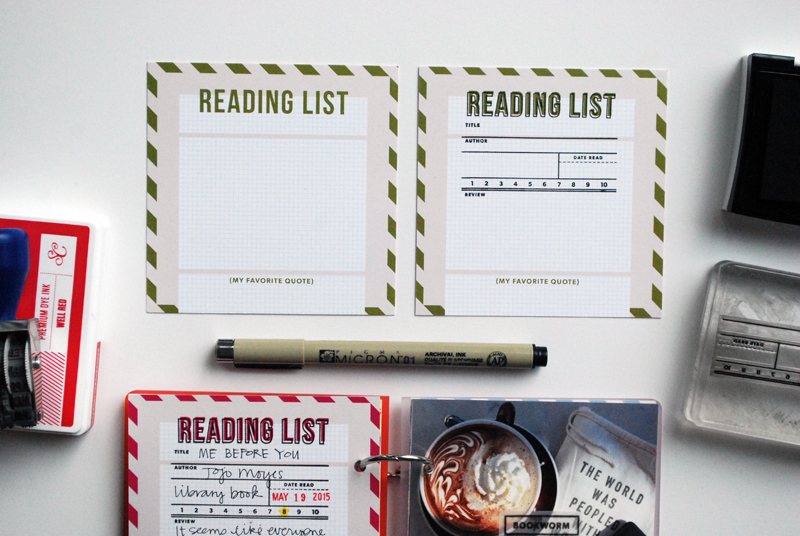 2015 Reading List Mini Book | Nicole Reaves