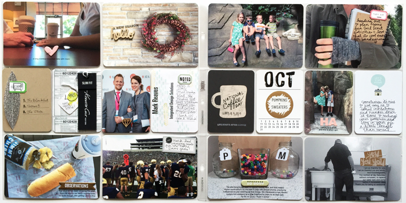 Project Life Weeks 39 + 40 | Nicole Reaves