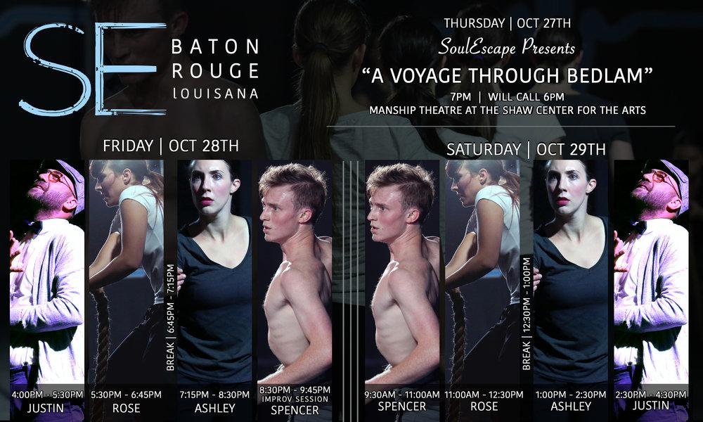 Baton Rouge Schedule
