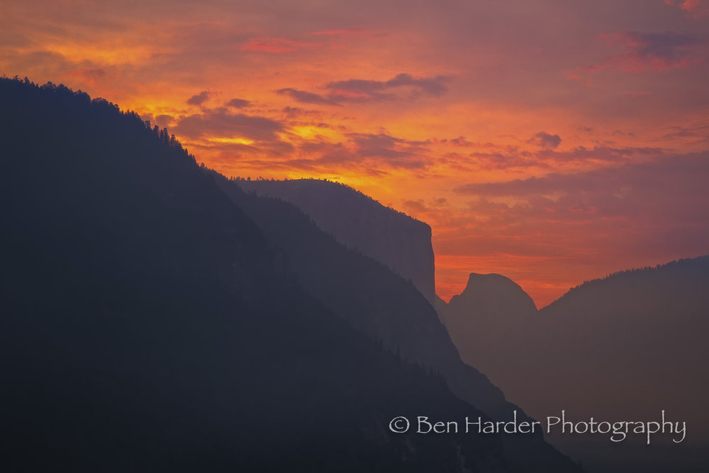 """Dawn"" - Yosemite Valley Park, CA"