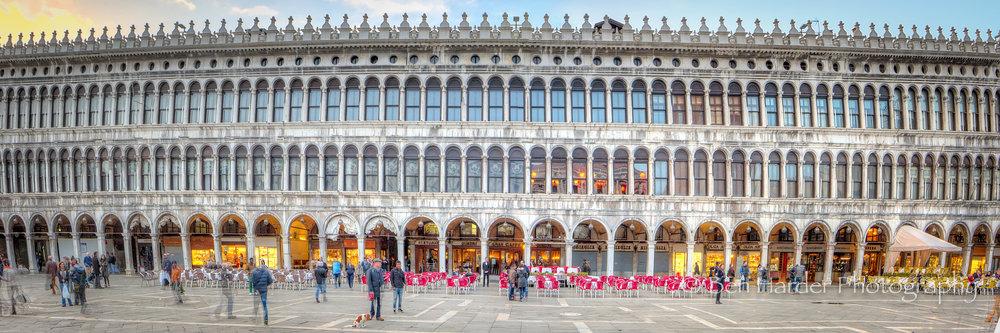 """""""Nary a Straight Line"""" - Venice, Italy"""