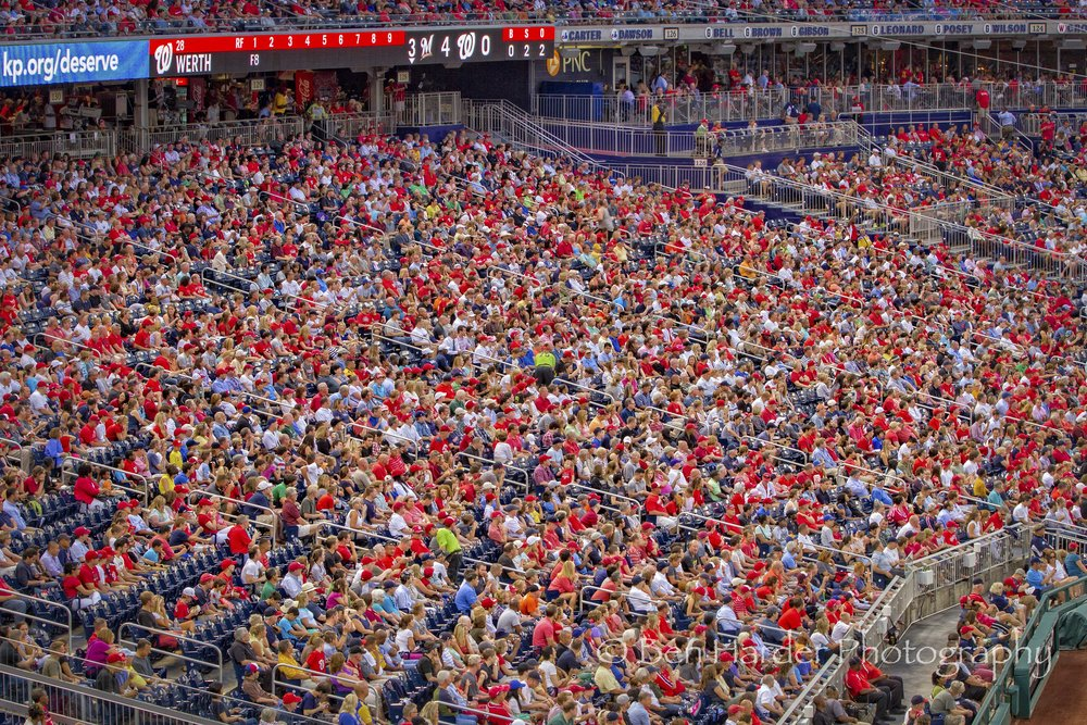 """National Pride"" - Washington Nationals Stadium, D.C."
