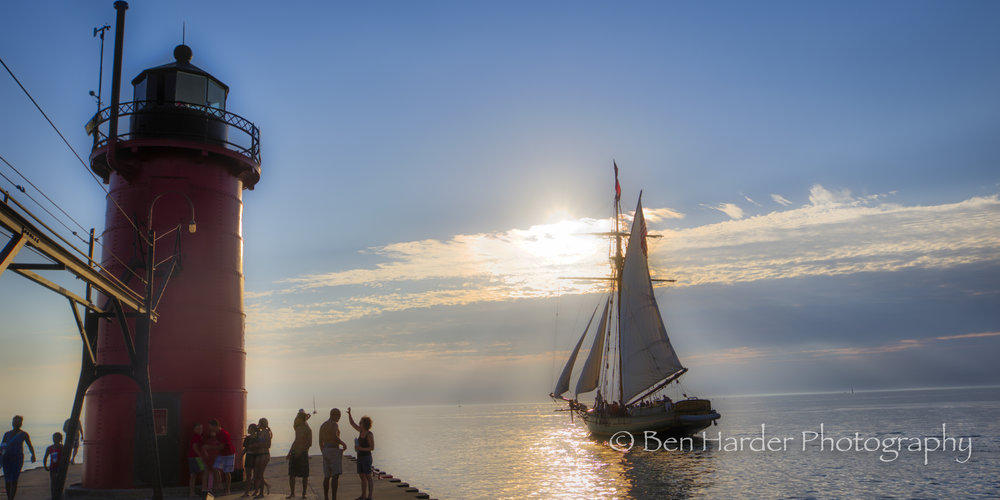 """Set Sail"" - South Haven, MI"