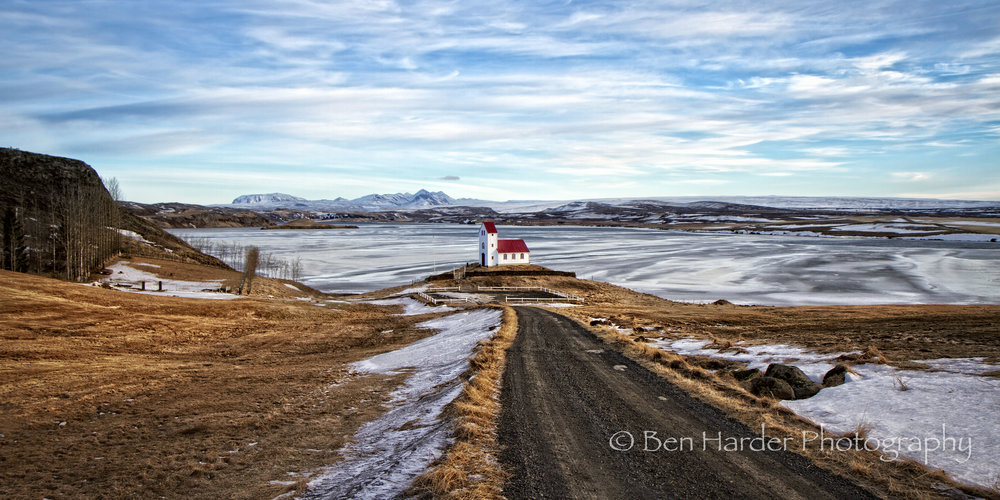 """Little Church-house on the Prairie"" - Iceland"