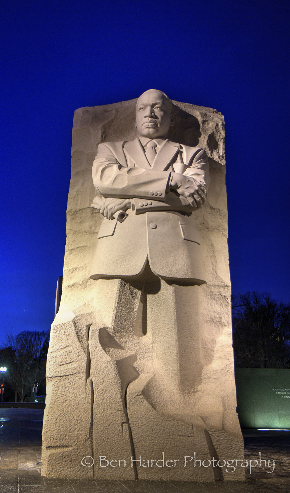 MLK Jr. Memorial by Night