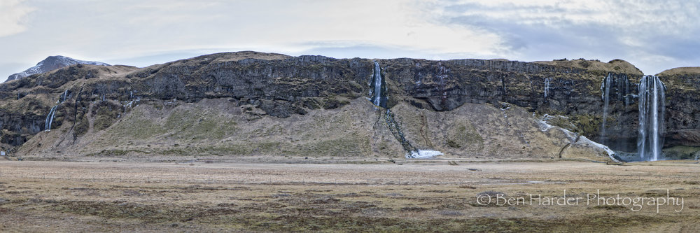 """Triple Waterfall"" - Iceland"