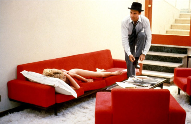 "Brigitte Bardot & Michel Piccoli in ""Contempt"""