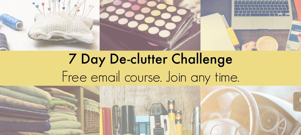 Free declutter course